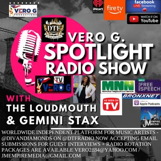 Spotlight Radio Show 8-12-20 with Artists Vinny98NYC Queen Sarai #DTFRadio #Podcast #Music #Interviews