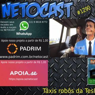 NETOCAST 1290 DE 30/04/2020 - Tesla pode lançar seus robôs-táxis ainda este ano