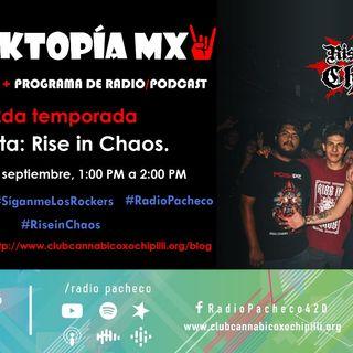 REVISTA #ROCKTOPÍAMX 2a Temporada - Programa 9 Entrevista: #RiseInChaos | #AlAire 🎧🎙🎚