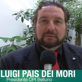 Luigi Pais dei Mori: Belluno devastata