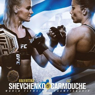 Preview Of The UFCONESPN Card Headlined By Flyweight Champ Valentina Shevchenko-Liz Carmouche Fighting For The Title In Uruguay!!!!
