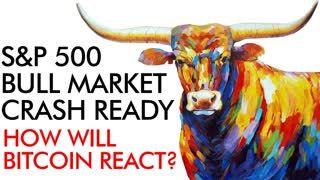 S&P 500 Bull Market Crash Ready - How Will Bitcoin React