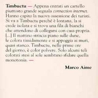 Un libro sul comodino - Timbuctu