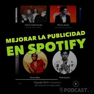 Mejorar la publicidad en Spotify