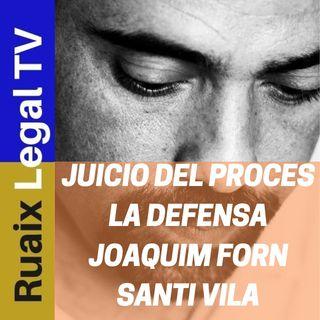 Juicio 1-O | Defensa | Joaquim Forn | Santi Vila | Noticias Catalunya | Tribunal Supremo Directo 1-O