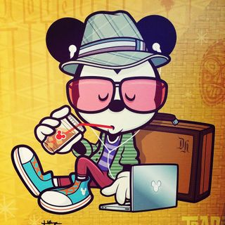 Making Hipster Mickey Mouse |  Jerrod Maruyama