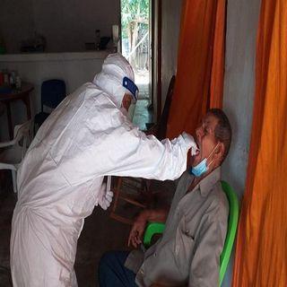 Casos actuales de covid-19  en Colombia