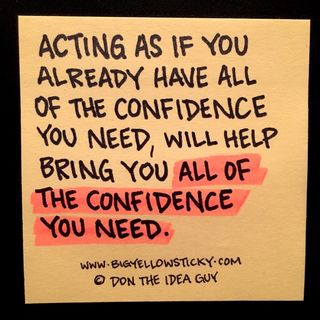 Acting Confident : BYS 163
