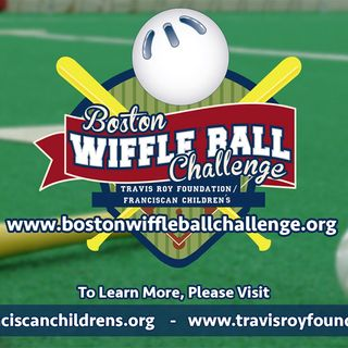 Travis Roy, John Nash Talk 2018 Boston WIFFLE Ball Challenge