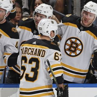 Brad Marchand Makes Bruins History