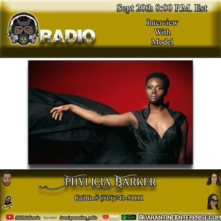 Quarantine Radio Interview with Phylicia Barker