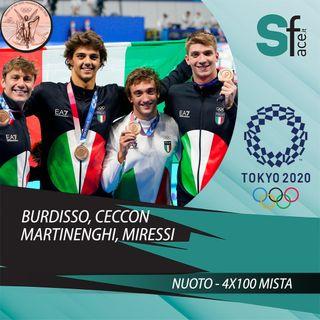 Tokyo 2020 - Puntata 18 (1° agosto) - 4x100 mista maschile di bronzo, scherma nel baratro