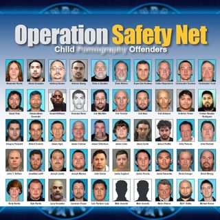 Cops & Gov't Workers Arrested in Massive Child Sting +