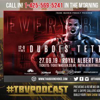 ☎️Daniel Dubois vs. Ebenezer Tetteh For Joe Joyce's Vacated Commonwealth Title❗️