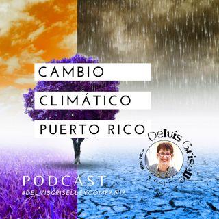 Cambio climático en Puerto Rico