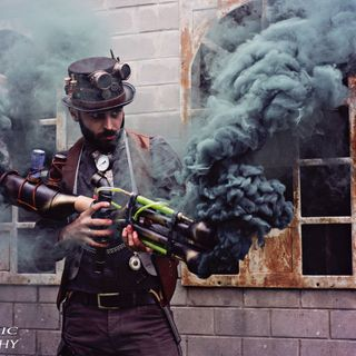 Interview Steampunk photographe Declic Photography