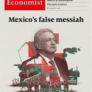 EL FALSO MESIAS EN MEXICO LA ULTIMA PORTADA DE LA REVISTA ECONOMIEST