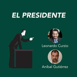 Leonardo Curzio y Aníbal Gutiérrez presentan El presidente