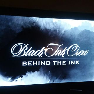 Black Ink Behind the Ink