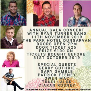 The Annual Gala Concert is happening in the Park Hotel next week
