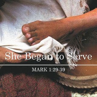 Follow Me - She Began to Serve