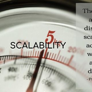 Scalability - Morning Manna #2834