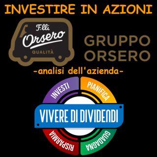 INVESTIRE IN AZIONI ORSERO   analisi dell'azienda