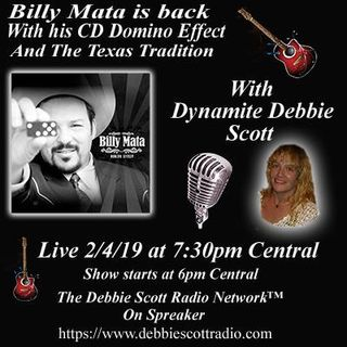 BILLY MATA INTERVIEW BY DYNAMITE DEBBIE !!!  2-4-19
