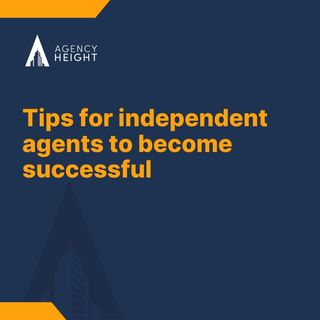 How to become an independent agent?