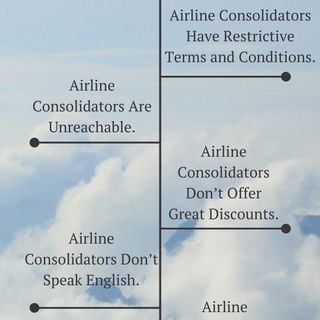 Airline Consolidators Misconceptions How to ShopSmart