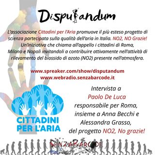 NO2, NO Grazie! Intervista a Paolo De Luca