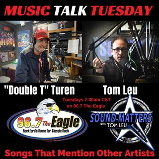 (Music Talk Tuesday): Songs That Mention Other Artists