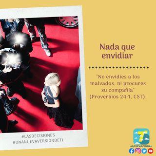 22 de octubre - Nada que envidiar - Una Nueva Versión de Ti 2.0 - Devocional de Jóvenes