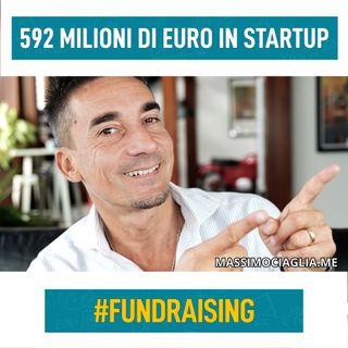 592 milioni di € per le startup