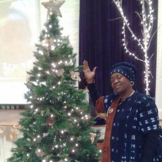 Shanda Smith and the Annual MurderMistaken, Inc's Children Christmas Party in Washington, DC