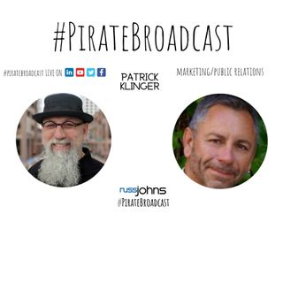 Catch Patrick Klinger on the PirateBroadcast