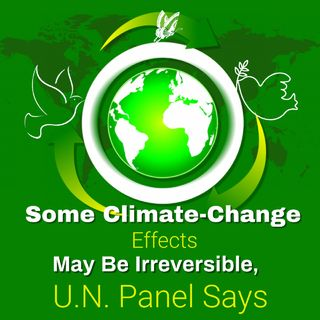 Some Climate-Change Effects May Be Irreversible, U.N. Panel Says