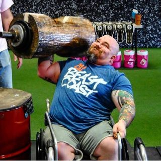 Episode 7: Special Guest World's Strongest Disabled Man Competitor The Unbroken Rhino.