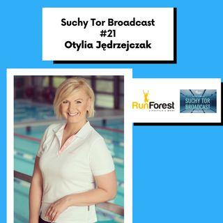 Otylia Jędrzejczak po rozmowach z Panią Minister Sportu w Suchy Tor Broadcast #21