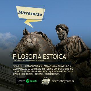 Microcurso: Filosofía estoica - Sesión 1: Introducción