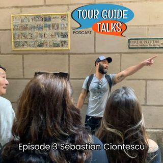 Ep. 3 Sebastian Ciontescu discusses a variety of tours and client / tour guide relations.