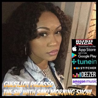 The Sip With Saki Morning Show Guest. Lot Pacasso