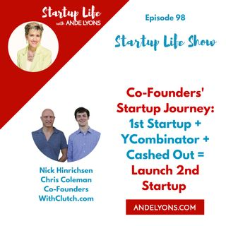 Co-Founders' Startup Journey: 1st Startup + YCombinator + Cashed Out = Launch 2nd Startup