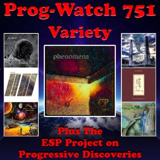 Episode 751 - Variety + the ESP Project on Progressive Discoveries