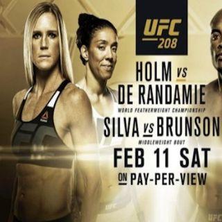 MMA Forethought UFC 208 w/ J. Correa