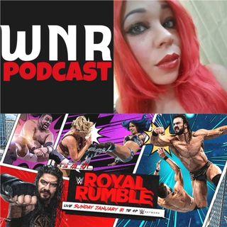 WNR329 WWE ROYAL RUMBLE 2021