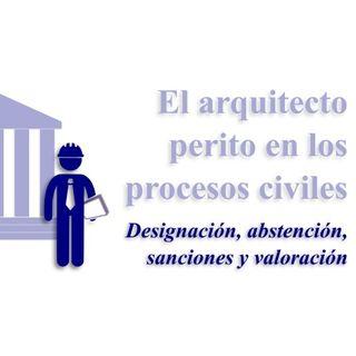 El arquitecto en los procesos civiles