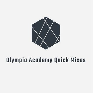 Olympia Academy Quick Mix 19