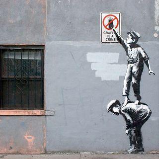 #sa Street Art - Bansky