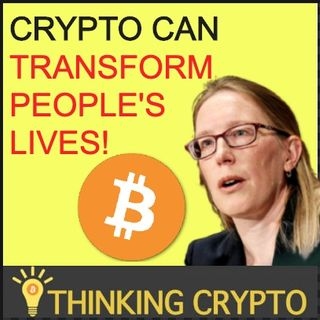 "BITCOIN & CRYPTO Market Can ""Transform People's Lives"" Says SEC's Cryptomom"